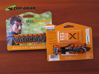 Gerber Bear Grylls Survival Bracelet with Emergency Whistle - 31-001773