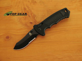Gerber D.M.F. Manual Folding Clip-Point Knife - 30-000582
