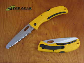 Gerber E-Z Out Rescue Knife with Yellow Handle - 06971