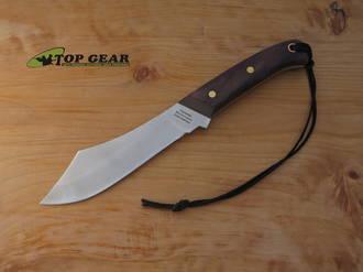 Grohmann #108 Deer & Moose Knife, Rosewood Handle - R108S