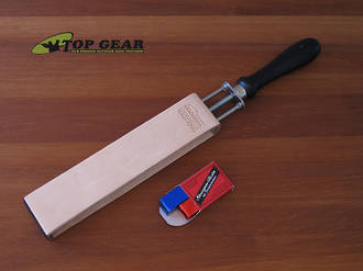 Linder Herold Leather Razor Strop with Clamping Fixture - 888003