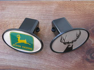 Knockout Hitch Cover - John Deer Or Stag