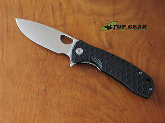 Honey Badger Flipper Pocket Knife, Large, Black - HB1001