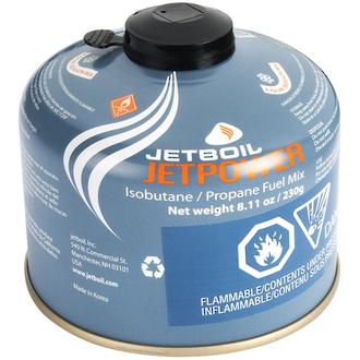 Jetboil Jetpower Self-Sealing Isobutane/Propane Gas Canister 230g - JETPWR-230