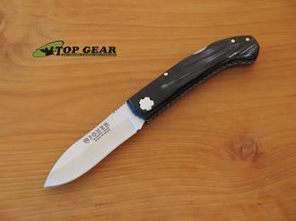 Joker Folding Sporting Lockback Knife - Buffalo Horn Handle NF99USA