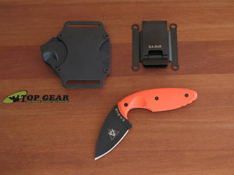 KA-Bar TDI Law Enforcement Knife - Orange 06-1480BO