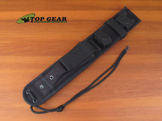Ka-Bar Large Cordura Sheath; Black - 8017