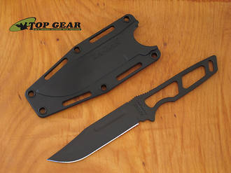 KA-Bar Short USA Neck Knife, 1095 High Carbon Steel - 1117