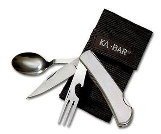 Ka-Bar The Hobo 3-In-1 Utensil Kit - 1300