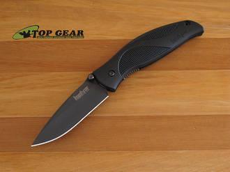 Kershaw Blackout Speedsafe Assisted Opening Knife, Plain Edge - 1550