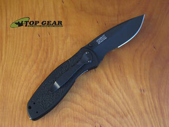 Kershaw Blur Assisted Opening Knife with Glass Breaker - 1670GBBLKST