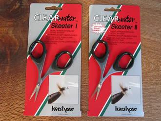 Kershaw Clearwater Skeeter II Fly Tying Scissors, Serrated Edge - 1215KER