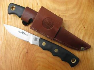 Knives of Alaska Alpha Wolf Hunting Knife, S30V Stainless Steel - 00345FG