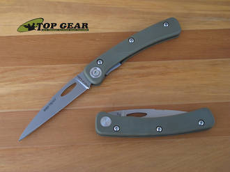 Knives of Alaska Featherlite Bird/Trout Knife with G10 Handle 383FG