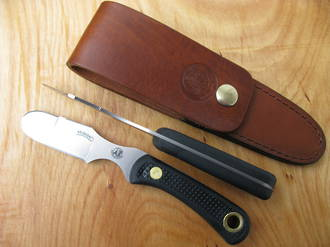 Knives of Alaska Muskrat Skinner Knife - 69FG