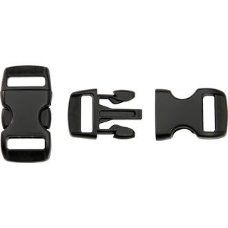 "Knotty Boys 1.5"" Paracord Survival Bracelet Buckle - KYCP"