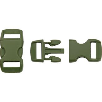 """Knotty Boys 1.5"""" Paracord Survival Bracelet Buckle - Olive Drab BZ05OD"""