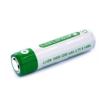 LED Lenser ICR 18650 Lithium-Ion Rechargeable Battery, 3400mAh, 3.7 Volt - Fits MT10, MH10, H8R, F1R, P7R, M7R - 501001