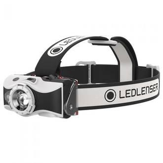 LED Lenser MH5 Rechargeable LED Headlamp 400 Lumens, Black/White - 500950