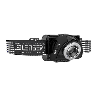 LED Lenser SEO7R Rechargeable LED Headlamp, Black - 6107-RB