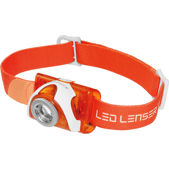 LED Lenser SEO3 LED Headlamp, Orange - 6104