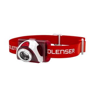 LED Lenser SEO5 LED Headlamp, Red and White - 6106