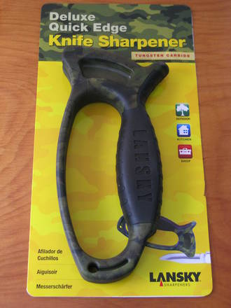 Lansky Deluxe Quick Edge Knife Sharpener, Camo - LSTCN-CG