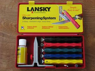 Lansky Deluxe 5 Stone Knife Sharpening System - LKCLX