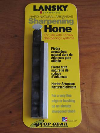 Lansky Hard Natural Arkansas Sharpening Hone - SO650