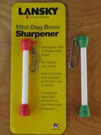 Lansky Mini Dog Bone Sharpener, Assoted Colours -  LCDOG