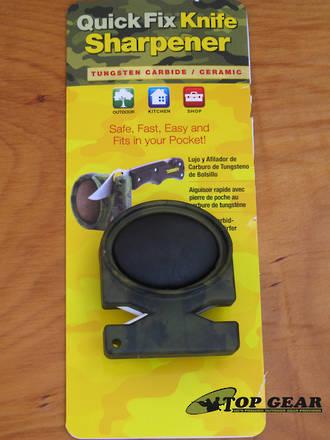 Lansky Quick Fix Pocket Sharpener, Camo - LCSTC-CG