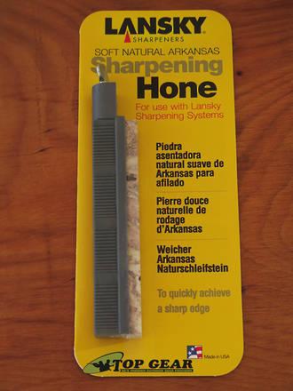 Lansky Soft Natural Arkansas Sharpening Hone - SO300