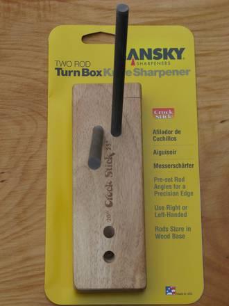 Lansky Turnbox 2 Rod Ceramic Knife Sharpener - LCS5D