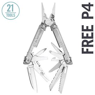 Leatherman Free P4 Multi-Tool, with Sheath - 8326642
