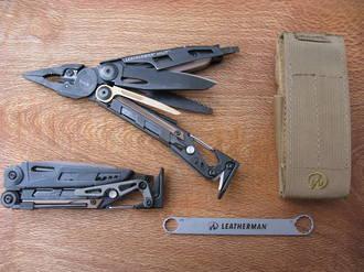 Leatherman MUT Black Multi-tool with Brown Molle Sheath - 850022