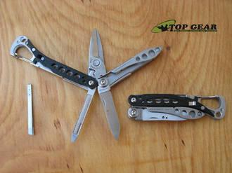Leatherman Style CS Keyring Multi-Tool 6 Tools In One - 831245