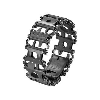Leatherman Tread Travel-Friendly Wearable Multi-Tool, Black DLC - 831999