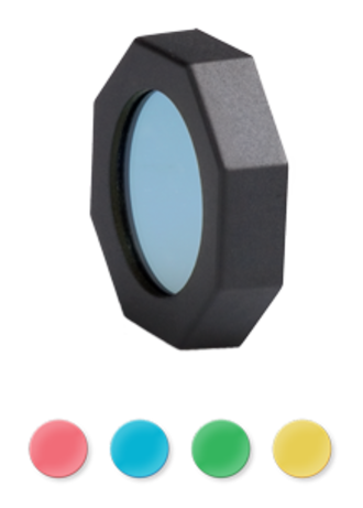 LED Lenser Filter Set with Red, Green, Blue and Yellow Filter - 0313-F