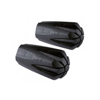 Leki Rubber Tips for Trekking Poles, 2-Pack - 882110104