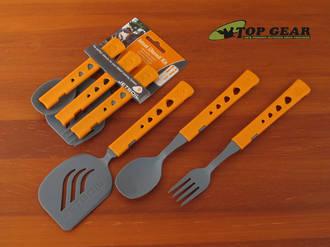 Jetboil Jetset Utensil Kit - Includes Spoon, Fork, Spatula - 00020