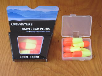Lifeventure Travel Ear Plugs 3 Pairs - 8990