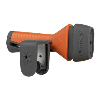 Lifehammer Safety Hammer EVOLUTION Orange - LHEBL001