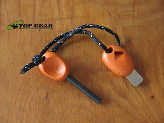 Light My Fire Bio SCOUT Swedish Firesteel 2-in-1, Rusty Orange - 211110xx10