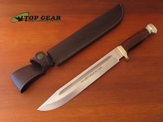 Linder Crocodile Hunter Knife, High Carbon Steel - 203625