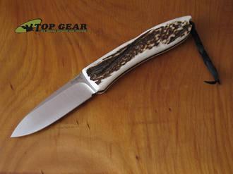 Lion Steel Opera Lockback Knife - D2 Tool Steel 8810CE