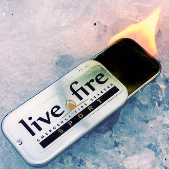 Live Fire Sport Emergency Firestarter - 15 grams