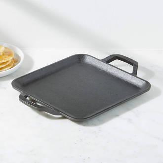 Lodge Cast Iron Pre-Seasoned Chef Collection Square Griddle, 28 cm - LC11SGR