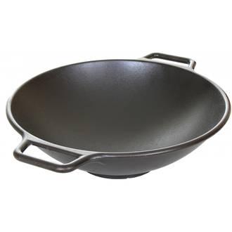 Lodge Cast Iron Cookware Prologic Wok - P14W3