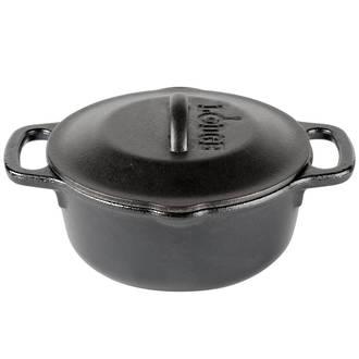 Lodge Pre-Seasoned Cast Iron Serving Pot with Loop Handle, 1Quart - 0.9 L - L1SP3