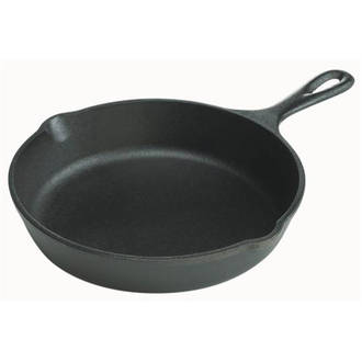 "Lodge Cast Iron Cookware Pre-Seasoned 8"" Cast Iron Skillet- L5SK3"